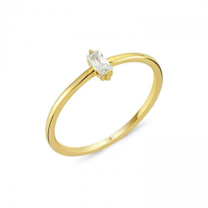 Gold Ring mit Stein